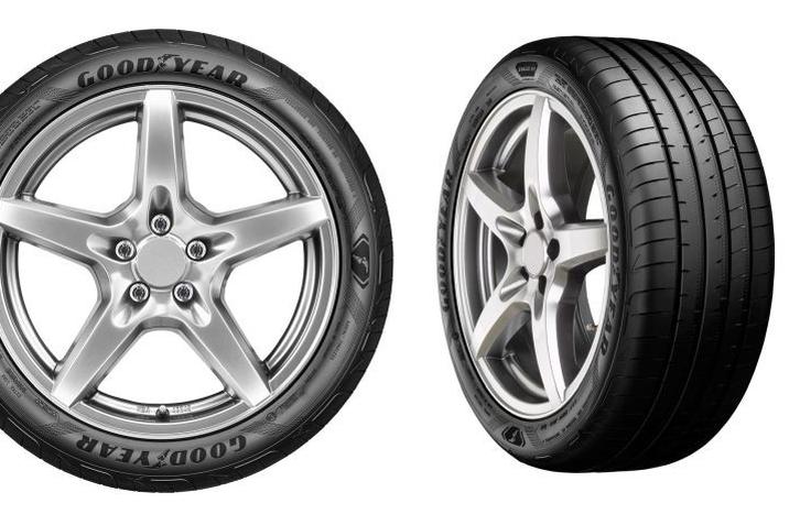 Letne pnevmatike Goodyear