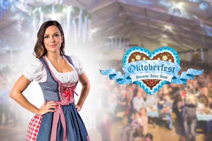 Natalija Verboten v tradicionalni bavarski noši