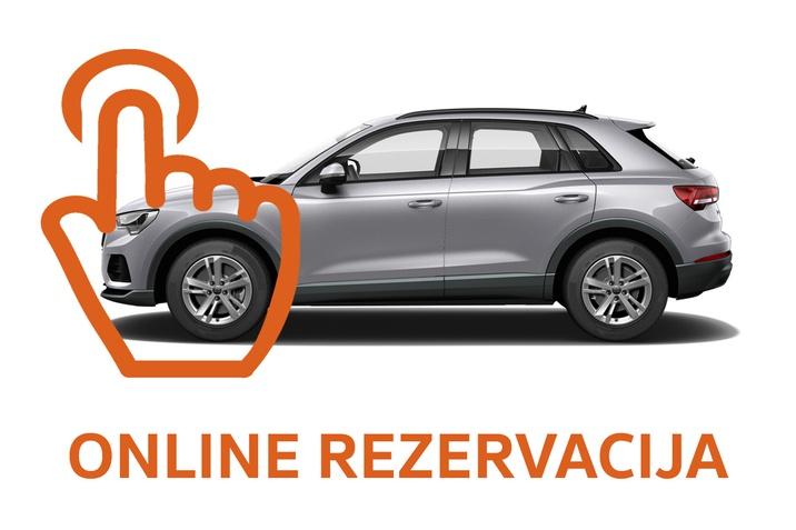 Online rezervacija vozila