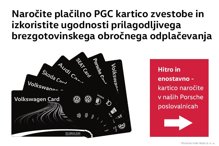 Kartica PGC Porsche Group Card