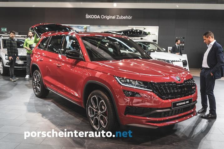 Škoda Kodiak RS 2019 cena Slovenija