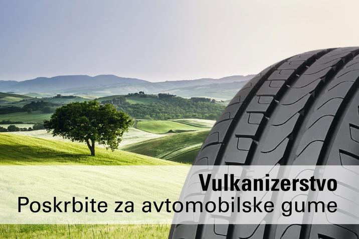 Vulkanizerstvo pri Porsche Inter Auto