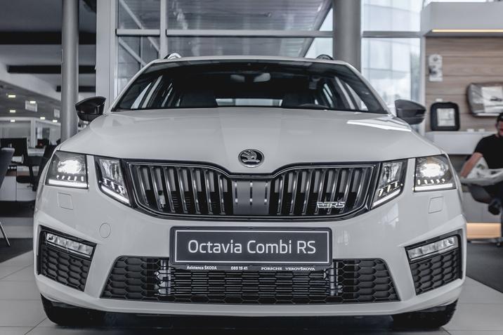 Škoda Octavia Combi RS